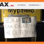 Рецензија: Нема доказ дека муртинци го поставиле транспарентот со порака до Заев