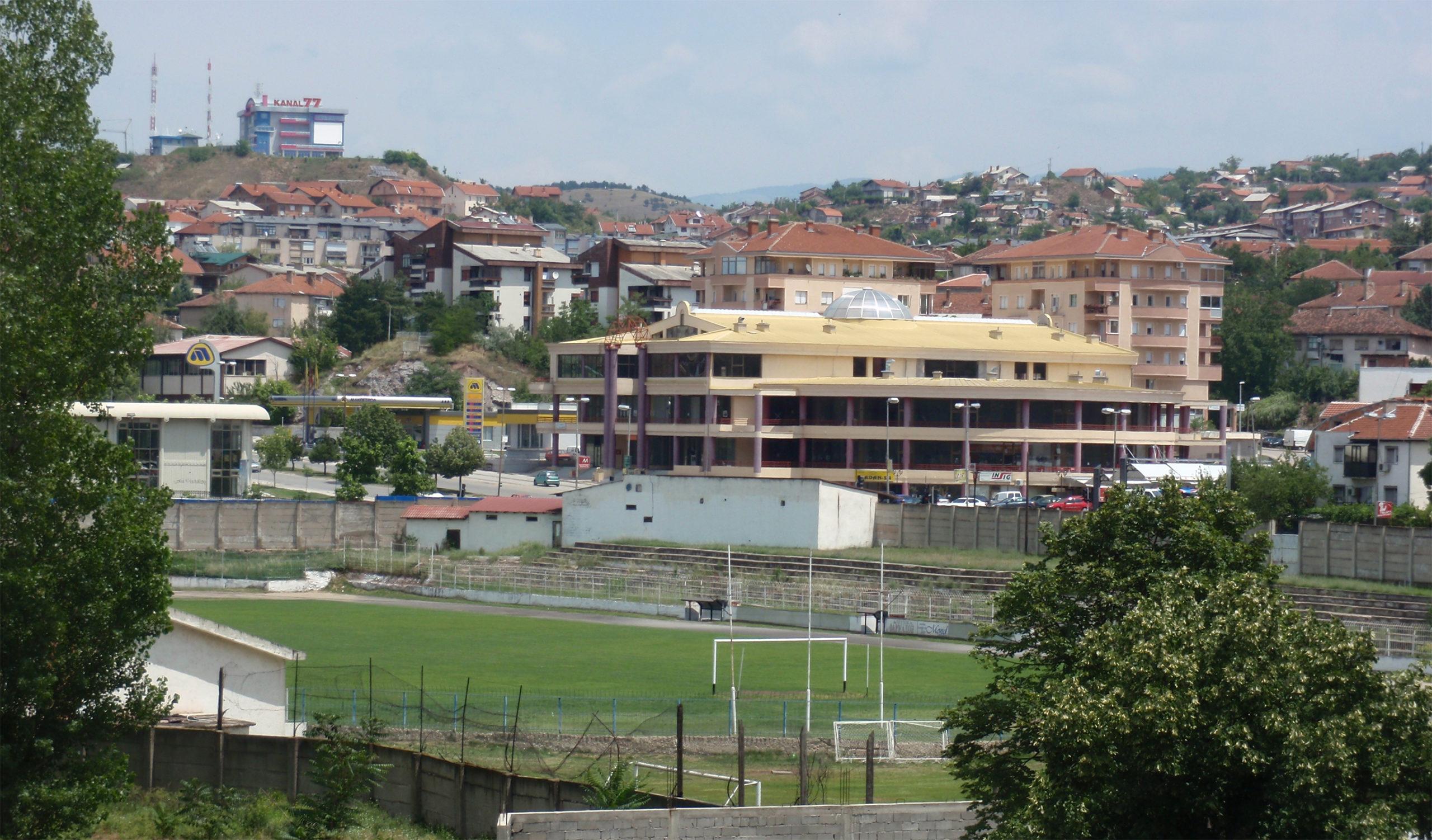 Фудбалски стадион на ФК Брегалница Штип